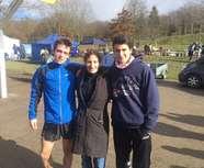 3 athlètes aux France de cross